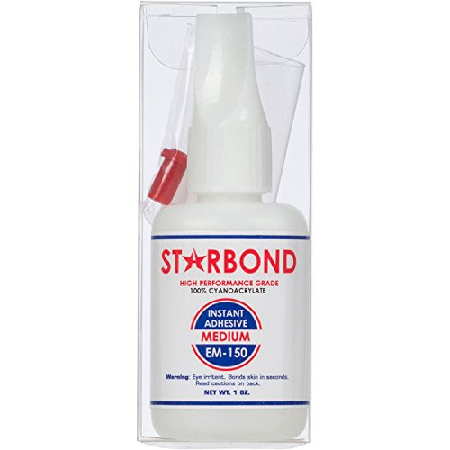 Starbond EM-150 Medium, PREMIUM CA - Super Glue plus Extra Microtips, 1 oz. (Car Model Glue compare prices)