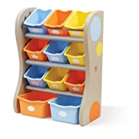 The Step2 Company Fun Time Room Organizer Bins, Tropical from The Step2 Company, LLC