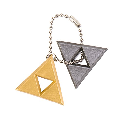 The Legend of Zelda A Link Between Worlds Mascot Keychain - Triforce