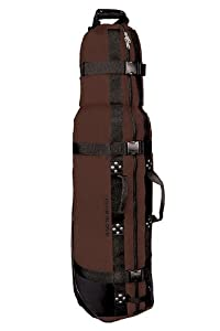 Club Glove Burst Proof Golf Travel Bag - Mocha Black by Club Glove
