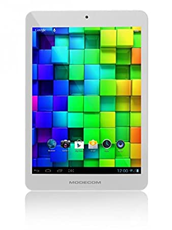 Modecom FreeTAB 19,8 cm (7,8'') Tablette Tactile (ARM, 1,5GHz, 1048MB RAM, 8Go HDD, WiFi, Android 4.2) Blanc