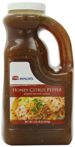 Minor's Sauce, Honey Citrus Pepper, 80 oz (Citrus Soy Sauce compare prices)