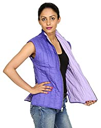 Rajrang Womens Cotton Jacket -Purple -Xx-Large