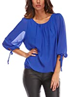 Piper and June Blusa Esther (Azul)