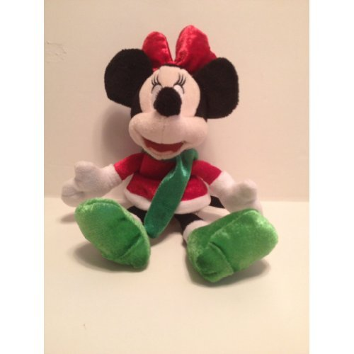 Disney's Christmas Minnie Mouse Beanbag Plush - 1