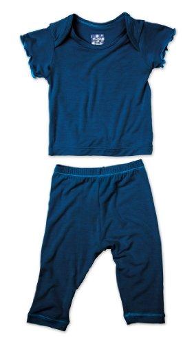 KicKee Pants Short Sleeved Pajama Set, Twilight, 12 18 Months