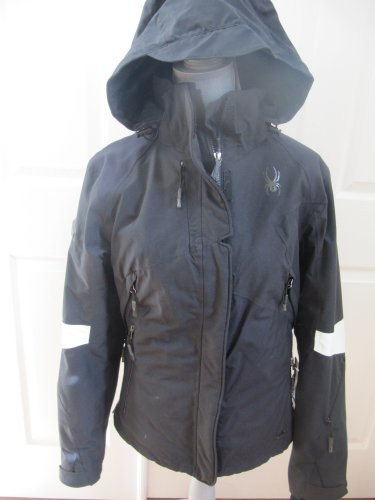 Spyder Glacial Gore-tex Jacket Women's Size Medium Black