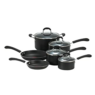 T-fal E938SA74 Professional Nonstick 10-Piece Cookware Set