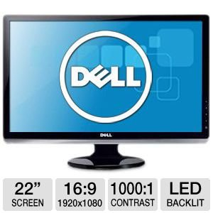 "Dell ST2220L 21.5"" Widescreen Flat Panel LED Monitor"