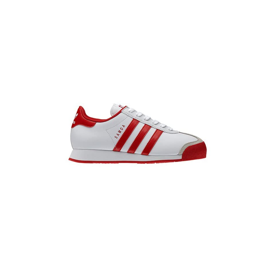 7c10620d3e0f Adidas Samoa C Childrens Shoes In Running White  Light Scarlet on ...