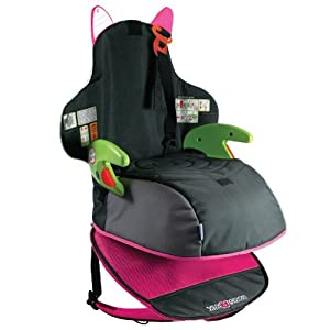 Trunki BoostApak Travel Backpack Booster Car Seat (Green) from Magmatic