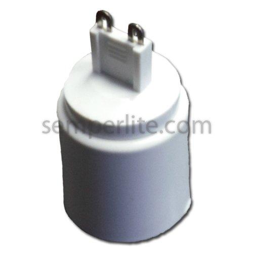 Lh0890 Converts G9 Halogen Sockets To Standard Medium Base Sockets