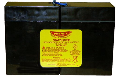 Parmak 902 12-Volt Gel Cell Battery for Solar Powered Electric Fences