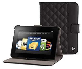 Belkin Quilted Kindle Fire HD Case with Stand (2nd Generation - 2012 release)