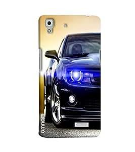 Omnam Cheverolet Mustang Printed Designer Back Cover Case For Oppo R7