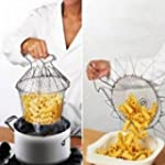Foldable Steam Rinse Strain Fry Chef...