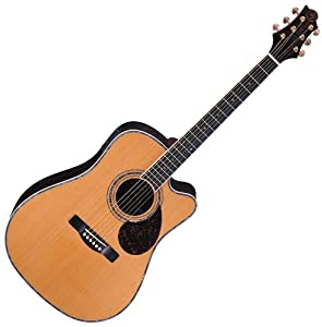 New Samick Greg Bennett Continental D8 Solid Acoustic Electric Guitar