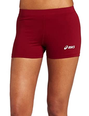 ASICS Women's Low Cut Short, Cardinal, XX-Small