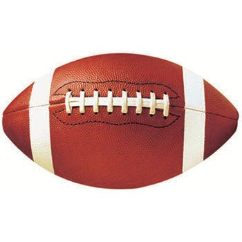 Packaged Football Cutouts - 7/Pkg.