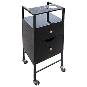 13052 epr tro carrello portaoggetti per parrucchieri - Carrello cucina nero ...