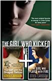 Stieg Larsson Stieg Larsson Three Book Set-Millennium Trilogy-The Girl with the Dragon Tattoo, The Girl Who Played with Fire, The Girl Who Kicked the Hornets' Nest RRP £23.97 (MILLENNIUM TRILOGY)
