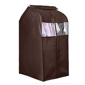 oxford cloth hanging garment suit coat dust cover protector wardrobe storage bag. Black Bedroom Furniture Sets. Home Design Ideas