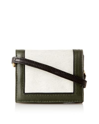 HARE + HART Women's Mini Clutch with Strap, Olive As You See