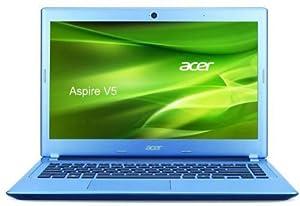Acer Aspire V5-431-887B4G50Mabb 33,6 cm (14 Zoll) Thin & Light Notebook (Intel Celeron 887, 1,5GHz, 4GB RAM, 500GB HDD, Intel HD, DVD, Win 8) blau