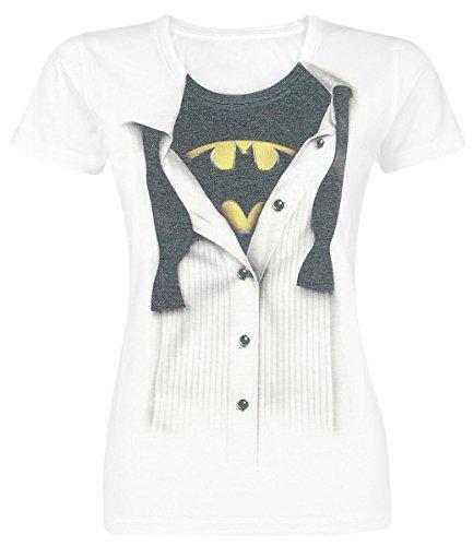 Batman Blouse Maglia donna bianco S