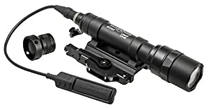 SureFire M620 Ultra Scout Ultra-High Output LED Weapon Light, Black