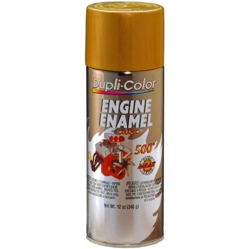 Amazon.com: Dupli-Color DE1604 Ceramic Universal Gold Engine Paint