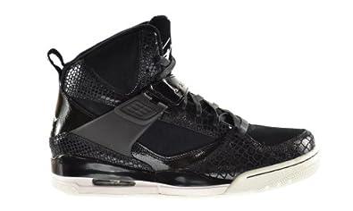 Jordan Flight 45 High IP S&S Men's Shoes Black/Summit White-Metallic Gold 631605-035 (8 D(M) US)