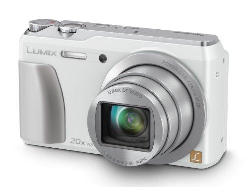Panasonic Lumix DMC-TZ55EB-W Compact Digital Camera - White (16.0MP Black Friday & Cyber Monday 2014