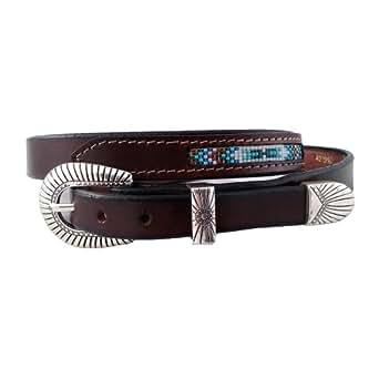 santa fe leather co s 421 tapered belt grain