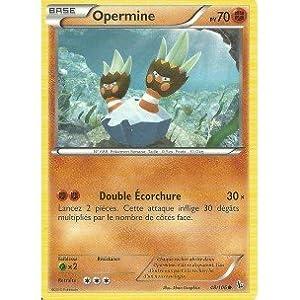 Nintendo - Carte Pokémon 48/106 OPERMINE Série XY Étincelles NEUVE FR - Vendeur Carte-Mania votre spécialiste.