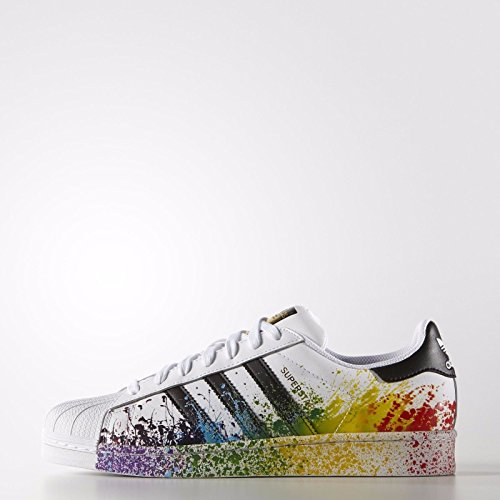 official photos 8a561 5f3d2 Adidas Superstar LGBT Pride Pack D70351 White/Black Rainbow Men's Shoes  Size 13   $79.99 - Buy today!