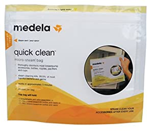 Medela Quick Clean Micro-Steam Bags (5 count)