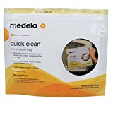 Medela Quick Clean Micro-Steam Bags, 5 Count ~ Medela