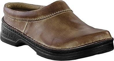 Footprints by Birkenstock Alton Leather Clogs (36 EU/US Women 5, Brown Antique)