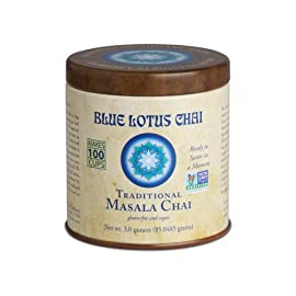 Blue Lotus Traditional Masala Chai - 3oz Tin (100 cups)