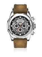 Timecode Reloj de cuarzo Man Suez 1869 Marrón 48 mm