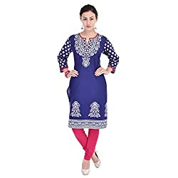 Style N Shades Cotton Printed Multicolor Kurti(S)