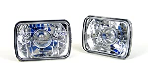 79-96 Chevy Van (With 2 rectangular headlamps) Sealed Beam Headlights Projector Conversion Kit