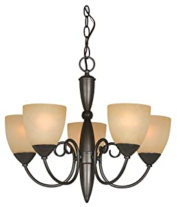 Hardware House 543728 Berkshire 21-inch By 18-inch Chandelier Oil-rubbed Bronze by Hardware House