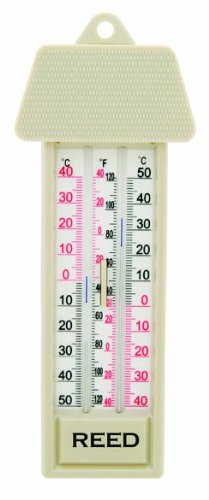 Reed Mm2 Max-Min Analog Thermometer, -40 To 122 Degrees F