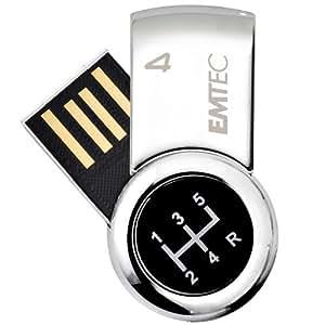Emtec S360 Mini Cle USB 2.0 pour Lui 4 Go