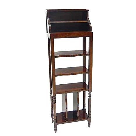 Better & Best 1741138 - Scrivania rialzata, stretta, alta, in legno verniciato