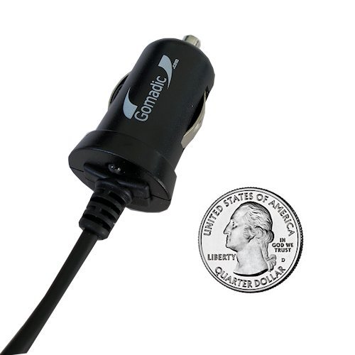 Gomadic Intelligent Compact Car / Auto DC Charger suitable for the Apple iPod 80GB - 2A / 10W power at half the size. Uses Gomadic TipExchange Technology 60w magsafe 2 car charger with usb port for apple macbook