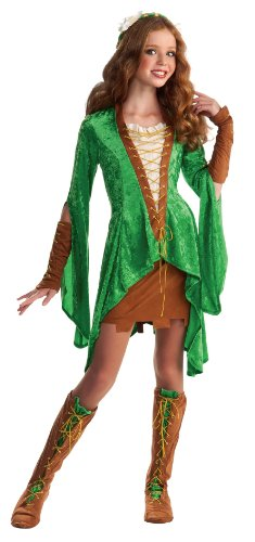 Drama Queens Tween Maid Marion Costume - Tween Small (0- 2)