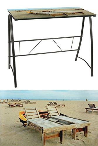 Design-Schreibtisch-Beach-schwarz-6-mm-Glastisch-Brotisch-Computertisch